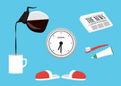 Vector Morning Accessories