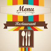 Cafe menu cover design
