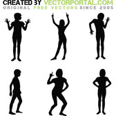 SILHOUETTES PACK VECTOR.eps