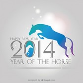 Vector Background 2014 Happy New Year