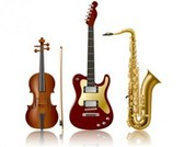 Stock Ilustrations musical instrument