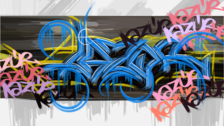 graffiti piece
