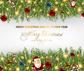 Beautiful Christmas theme elements vector-1