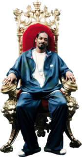Snoop Dogg-Chair PSD
