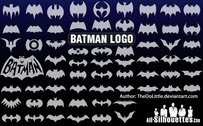 63 Vector batman logo
