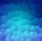 Modern Design Abstract Blue Background