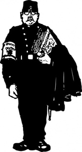 Gendarme With A Dictionary