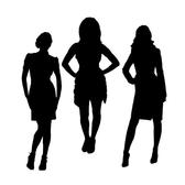 BUSINESSWOMEN SILHOUETTES.eps