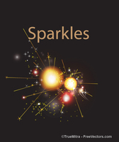 Sparkles Background