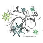 ABSTRACT FLOWER DESIGN GRAPHICS.eps