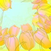 Handpainted Tulips Vector 5