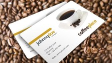Awesome Coffee Business Card Template