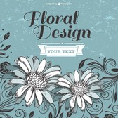 Flowers design template