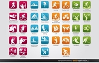 Olympic Sports Icons