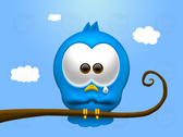 Sad Twitter Bird Icon