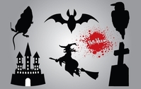 Silhouette Halloween Stuff Pack