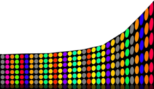 Colorful Dots PSD