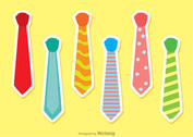 Set Of Vector Ties