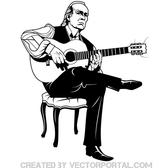 PACO DE LUCIA VECTOR TRIBUTE.eps