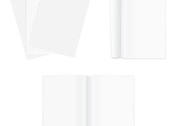 White Single Page Vector Pack