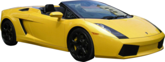 Yellow Lambo PSD
