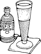 Lage Beer And Glass