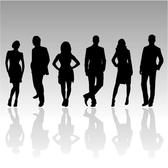 PEOPLE SILHOUETTES VECTOR PACK.eps