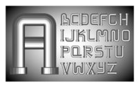 Different letters of the alphabet 01