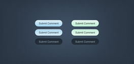 Minty-Fresh Web Buttons (PSD)