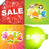 Summer Promotion Sale vector-1