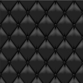 Realistic Black Upholstery Leather