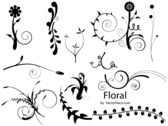 Free Graphics: Floral Vector Set