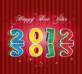 Happy New Year 2012 Design