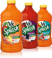 V8 Splash PSD