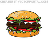 HAMBURGER VECTOR CLIP ART.eps