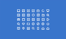 35 Glyph Mail Icons Set