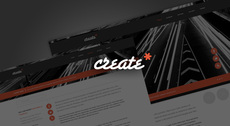 Free Minimal Website Design PSD