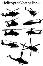 Vector Graphic Helicopters Pictures