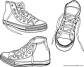 Hand Drawn Sneakers (3 Illustrations)