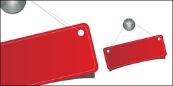 Notice the red vector tag licensing material