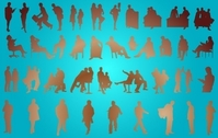 Corporate People Pack Silhouette