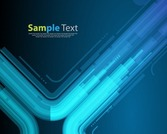 Technologie-Style Blue Abstract Background