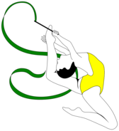 Rhythmic Gymnastics with Ribbon - 3