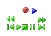 Deck or VCR button