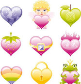 Free vector about heart icon
