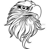 EAGLE BLACK AND WHITE VECTOR.eps