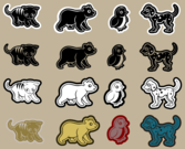 Die Cut Animals