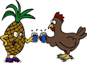 Pineapple and Chicken - Cheers