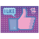 FACEBOOK LIKE VECTOR IMAGE.eps