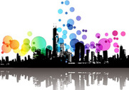 Free Vector Modern City Abstract